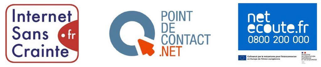 Visuel Bouygues Telecom s'engage pour plus de sécurité sur internet - logo- février 2021
