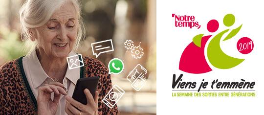 """Visuel Bouygues Telecom """"Viens, je t'emmène"""" : partageons la richesse du numérique - novembre 2019"""