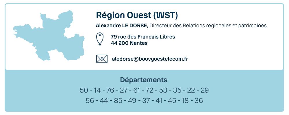 Visuel contact Bouygues Telecom région Ouest 2021
