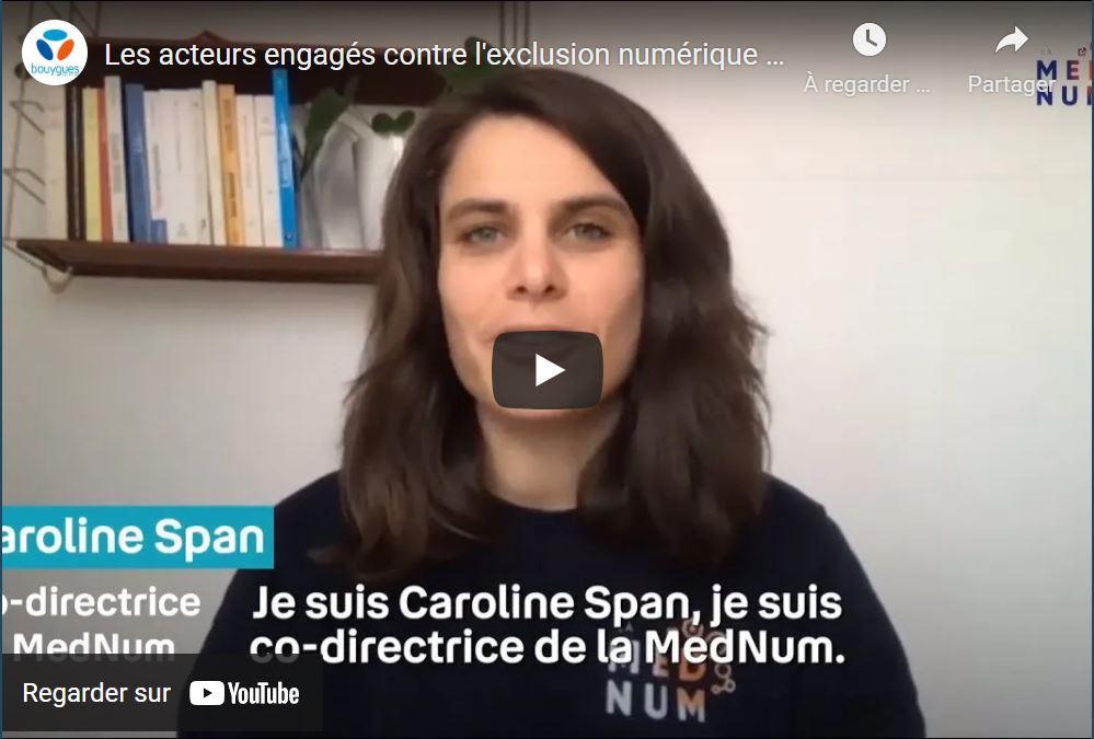 Visuel miniature vidéo Les acteurs engagés contre l'exclusion numérique : la MedNum | Bouygues Telecom