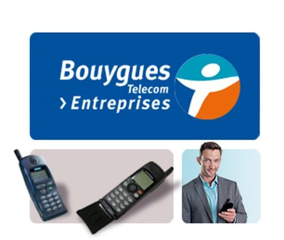 Visuel naissance Bouygues Telecom entreprise 1998