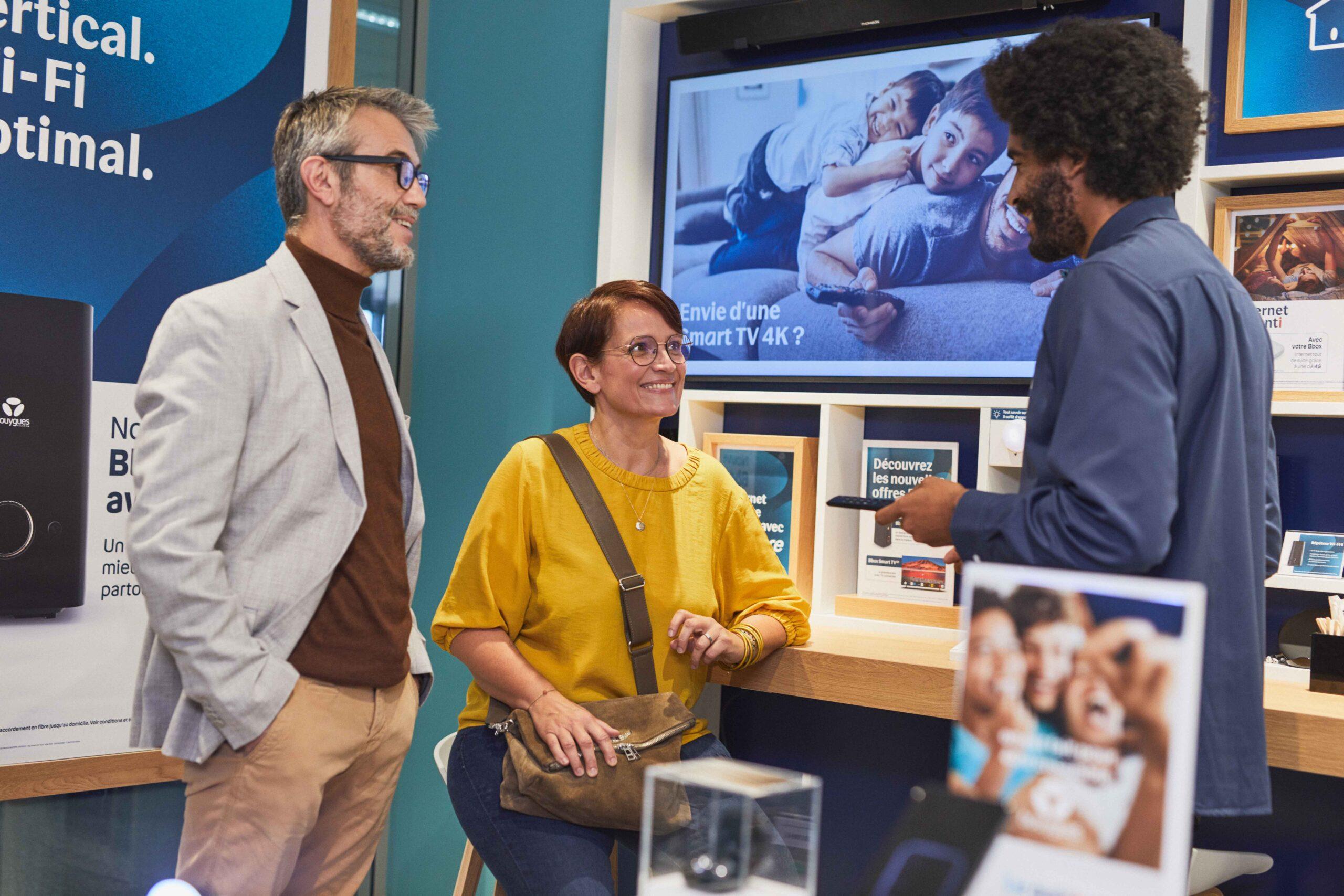 Visuel Nos métier chez Bouygues Telecom dans la relation client